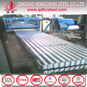 ASTM A653m Galvanized Corrugated Iron Roofing Steel Sheet Sizes pictures & photos