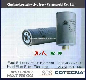 HOWO Truck Parts Fuel Filter pictures & photos