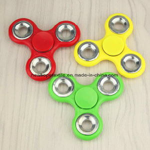 Basic Fidget Metal Spinner Hand Spinner Finger Spinner Toys EDC Tri Digit Air Aluminum Brass Finger Gyro Spinners pictures & photos
