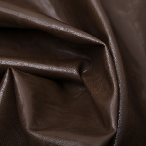 Popular PU Leather for Men′s Jacket (WDKD145) pictures & photos