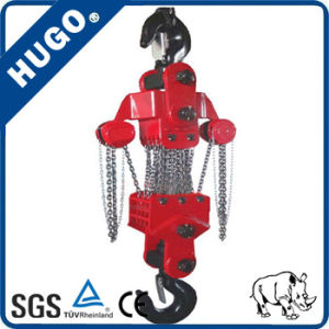50t Hand Pully Lift Equipment Manual Hoist with G80 Chain pictures & photos