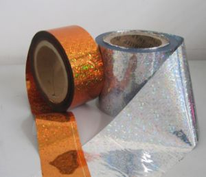 Pet/PVC Holographic Film for Tinsel Garland