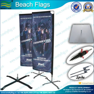 70X240cm Outdoor Rectangle Flag for Advertising pictures & photos
