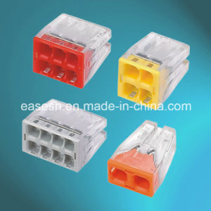 Quick Connector Push in Wire Connector with Ce pictures & photos