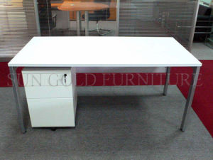 Simple Staff Desk, Office Computer Desk with Steel Foot (SZ-OD226) pictures & photos