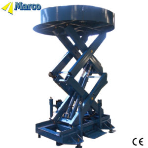 CE Approved Marco High Scissor Lift with Round Table pictures & photos
