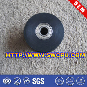 Custom Made Rubber Caster Wheel with Steel Center pictures & photos