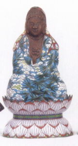Cloisonne Buddha pictures & photos