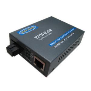 100Mbps Ethernet to Fibre Optic Converter (WTB-E350S20)