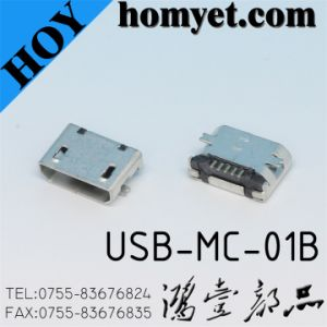 Manufacturer Mirco USB Connector for Cables (USB-MC-01B) pictures & photos