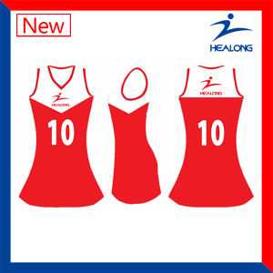 High Quality Designer Dye Digital Printing Netball Jersey pictures & photos
