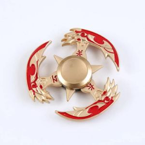 Hot Sell King of Glory Hand Spinner Without Noise Turning pictures & photos