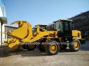 Farm Machinery Backhoe Wheel Loader with Excavator and Bucket Made in China pictures & photos