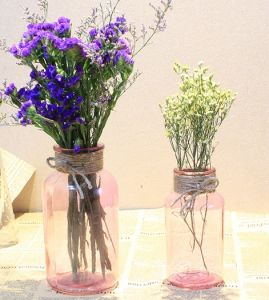Vintage Shabby Style Chic Retro Table Centre Glass Vase pictures & photos