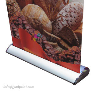 80X200CM Luxurious Base Portable Aluminum Roll Up Stand Banner pictures & photos