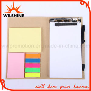 Custom Office Stationery Memo Pad with Pen (FM406) pictures & photos