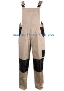 100%Cotton Worker Painter Bib Pants Overall with Buckles pictures & photos