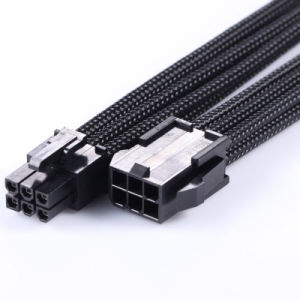 PCI-E 6 Pin VGA Sleeving Extension Cable
