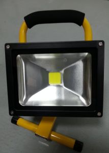 20W 6600mAh LED Outdoor Rechargeable Floodlight pictures & photos