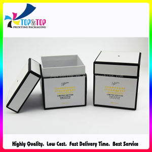 Round Design Fragrance Candle Packaging Box with Paper Lid pictures & photos