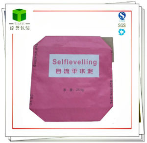 Kraft Valve Paper Bag for Selflevelling pictures & photos
