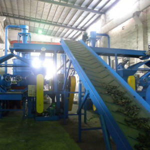Xinda Waste Tire Recycling Plant Tyre Recycling Line Tire Shredder pictures & photos