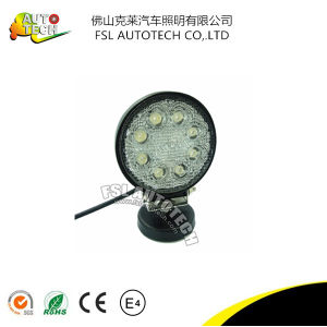 Round 24W Auto Part Spot LED Light for Car Truck pictures & photos