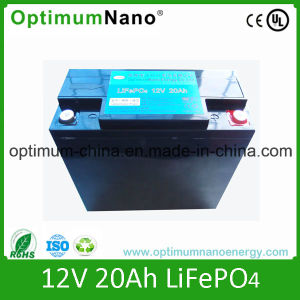 Hot Cake 12V 20ah LiFePO4 Battery for Solar Light pictures & photos