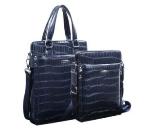 High Crocodile Leather Bag Sets (B738) pictures & photos