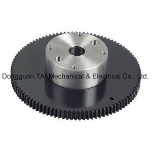 Hardened Gear Ring with Shaft Sleeve