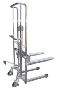 Fork Type Stainless Stacker (PFS. A; PJS. A) pictures & photos