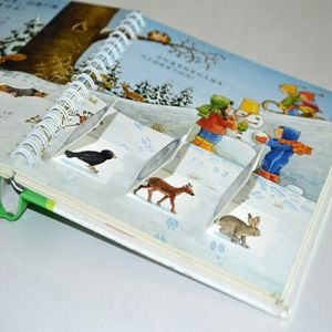 Children Hardcover Book Printing, Wire-O Child Pop up Book Printing pictures & photos