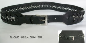 Fashion Ladies Belt with Chain FL-0055