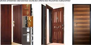 Various Style Solid Wooden Fire Door with Bm Trada Certified pictures & photos