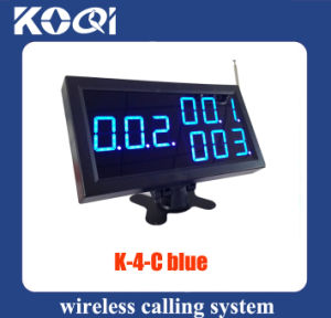 433.92MHz Electronic Number Display Receiver for Restaurant pictures & photos