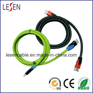 Double Color Mold, 1.4 Version, High-Speed HDMI Cable pictures & photos
