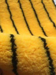 Tiger Polyester Paint Rooler Fabric pictures & photos