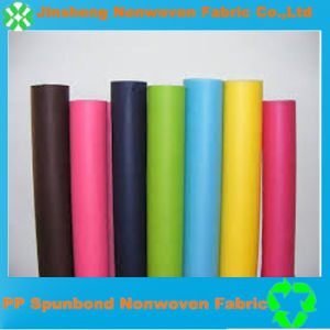 Eco-Friendly Colorful PP Spunbonded Nonwoven Fabric (10g-200GSM)