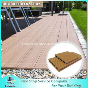 Non-Distorted Decking WPC Crack-Resistant Decking WPC Decking pictures & photos