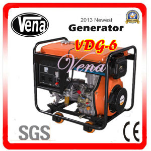Best Price for 6 Kw Diesel Generator Vdg-6 pictures & photos