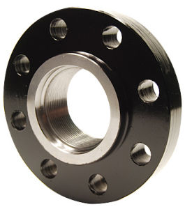 Large Size Black Steel Flange, Flange ANSI B16.5 Welding Neck, Slip on, Blind, Threaded Flange pictures & photos