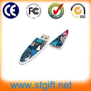 OEM Plastic Skateboard USB Flash Disk with Customized Logo