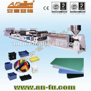 PE PP PC Hollow Profile Sheet Board Machine pictures & photos