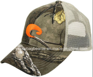 Fashion Camouflage Mesh Trucker Hat pictures & photos