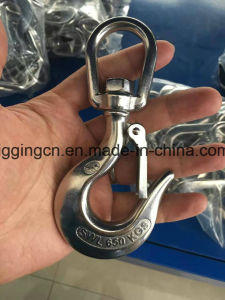 Stainless Steel Swivel Lifting Hook with Latch pictures & photos