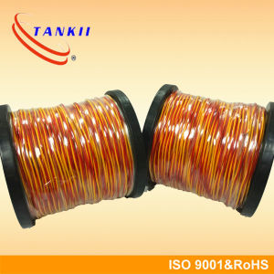 Red yellow fiber glass insulated extension cable Thermocouple cable (Type KX) pictures & photos