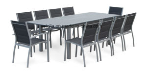 Model Outdoor Aluminum Extension Table Dining Set pictures & photos