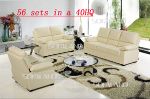 Furniture Bonded Leather Sofa (720) pictures & photos