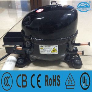 High Efficiency R600A Compressor (WV65YT) with The Piston Reciprocating Structure pictures & photos
