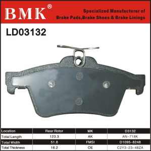 Adanced Quality Brake Pad (D3132) pictures & photos